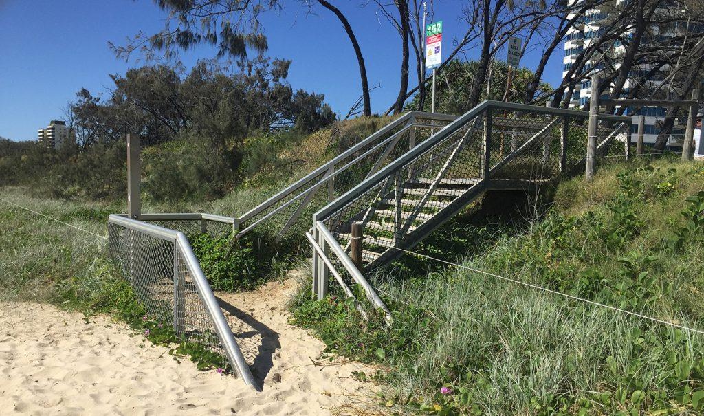Beach Access Stairs