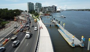 Kingsford Smith Drive Upgrade Pontoons